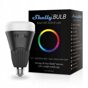 Shelly BULB, żarówka RGBW LED WIFI